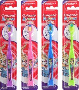 Colgate зубная щетка Детская 2+ Доктор Заяц