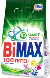 BiMax порошок стиральный Авт 100 ПЯТЕН пак 4,5кг