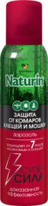Gardex Naturin Аэрозоль от комаров, клещей и мошек 150мл
