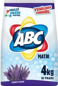 ABC Порошок для стирки авт Lavanta Tazeligi 4кг