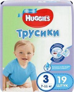 Huggies трусики Convy №3 Boy 19шт