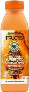 Fructis  Шампунь Superfood Восстановление с экстрактом Папайи 350мл