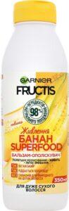 Fructis бальзам-ополаскиватель Superfood Питание с экстрактом Банана 350мл