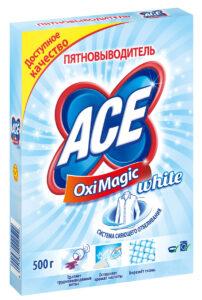 Ace Oxi Magic пятновыводитель для белья Восстановление белого 500гр