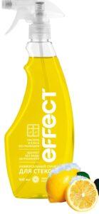 Effect спрей для чистки Стёкол и Зеркал Лимонная свежесть 500мл
