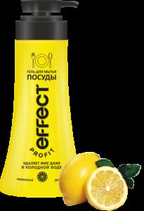 Effect Profit гель для мытья посуды Лимонная долька 750мл