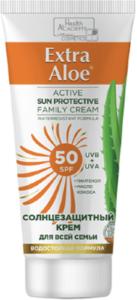 Health Academy Солнцезащитный крем 50 SPF с репеллентным эффектом 100мл