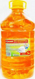 Волшебница средство для мытья посуды Оранжевое 5л