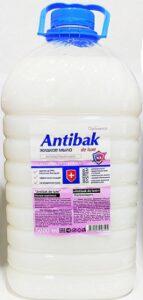 Antibak De Luxe Жидкое мыло Антибактериальное Ультразащита 5л