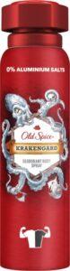 OLD SPICE Аэрозольный Антиперспирант Krakengard 150мл