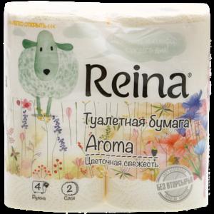 Ruta Туалетная бумага Aroma Цветочная свежесть 2-сл. 4шт