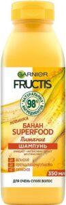 Fructis  Шампунь Superfood Питание с экстрактом Банана 350мл