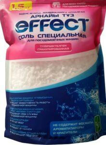 Effect соль для посудомоечных машин Гранулированная 1500гр