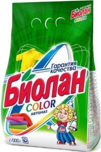 Биолан порошок стиральный Авт Color пак 6кг