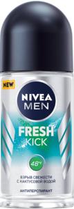 Nivea Men Антиперспирант ролик Fresh Kick 50мл