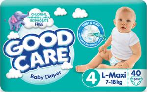 Good Care подгузники детские №4 (7-18кг) MAXI 40шт
