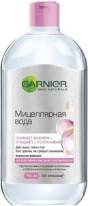 Garnier Мицеллярная вода снимает макияж+ очищает+ успокаивает 700мл