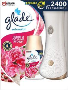 Glade Automatic автоматический освежитель воздуха Пион и Сочные ягоды 269мл