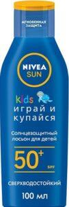 Nivea Sun солнцезащитный лосьон Детский Играй и купайся 50SPF 100мл