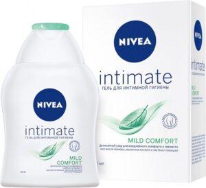 Nivea гель для интимной гигиены Молочная кислота Пантенол и Ромашка Mild Comfort 250мл
