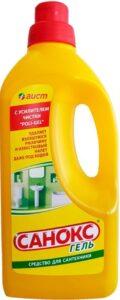 АИСТ гель для чистки Санокс с усилителем чистки Poli-gel 1100мл