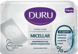 Туалетное мыло DURU Hydro Pure Мицеллярное 110гр