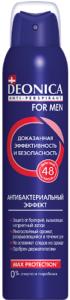Deonica For Men дезодорант спрей Антибактериальный эффект Max Protection 200мл