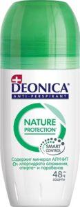Deonica дезодорант ролик Nature Protection 50мл