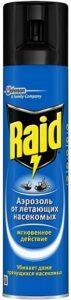 Raid аэрозоль от насекомых Мгновенное действие 300мл