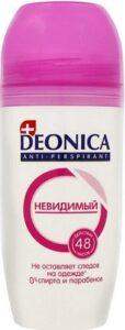 Deonica дезодорант ролик Невидимый Clear Aqua 50мл
