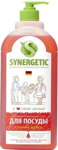 Synergetic гель для мытья посуды Антибактериальный Сочный арбуз 500мл