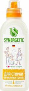 Synergetic гель для стирки Гипоаллергенный для Деликатных тканей 750мл