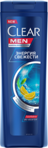 Clear Men Шампунь Свежесть с лимоном 400мл