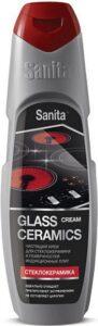 SANITA крем для стеклокерамики 600гр