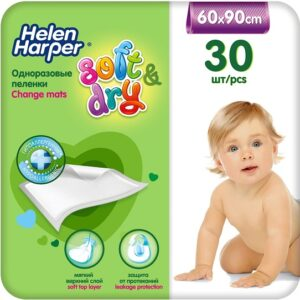 Helen Harper пелёнки Детские Soft&Dry 60х90см 1шт