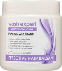 WashExpert Бальзам для волос Кератинотерапия 500мл
