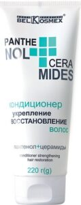 BelKosmex кондиционер для волос Укрепление и Восстановление Пантенол+Церамиды 220мл