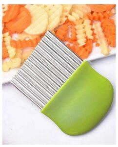 Нож кухонный Волнистый для Фигурной нарезки вощей и фруктов 1шт
