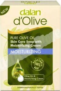 Dalan Moisturizing мыло с эктрактом Оливы 100гр
