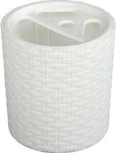 Альтернатива подставка для зубных щёток Плетёнка Пластик 1шт